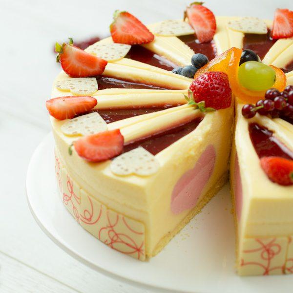 I Love Cake - white chocolate